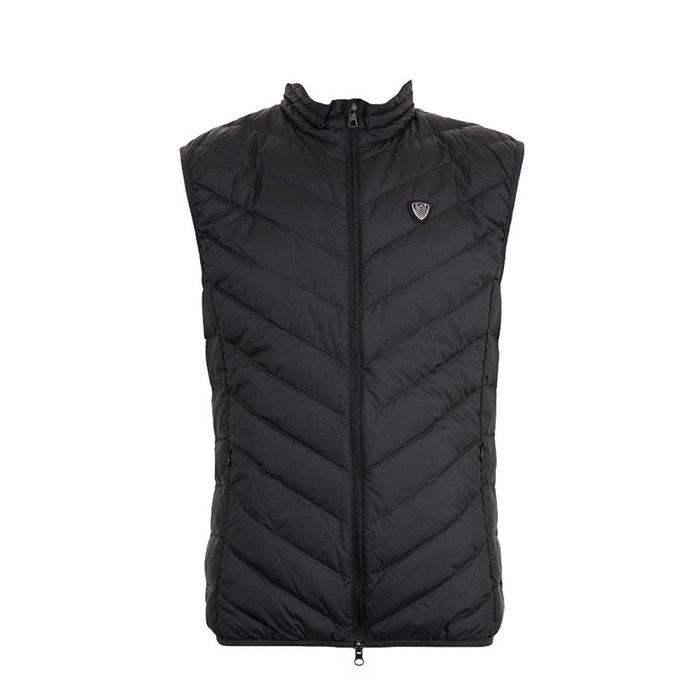 Doudoune sans manches polyester noir Emporio Armani Ea7   La Redoute eee36073c57
