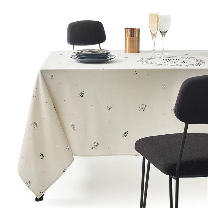 Florina Printed Cotton Tablecloth  La Redoute Interieurs image 0