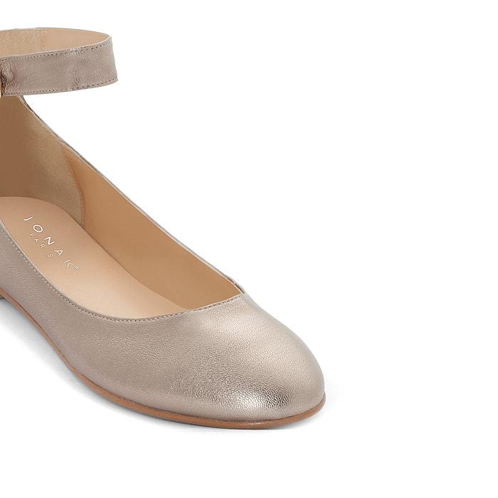 JONAK Villa Leather Ballet Pumps latest cheap sneakernews visit for sale discount under $60 mppdW1mz