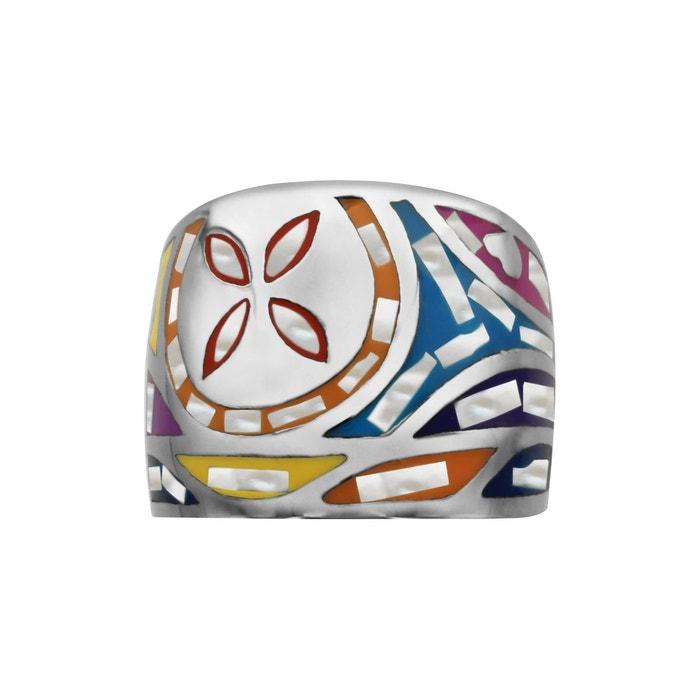Réduction De 100% Authentique Bague large motif fleur nacre couleur pastel acier inoxydable couleur unique So Chic Bijoux | La Redoute Achat De Sortie Prix La Vente En Ligne Y6LIhjE0h
