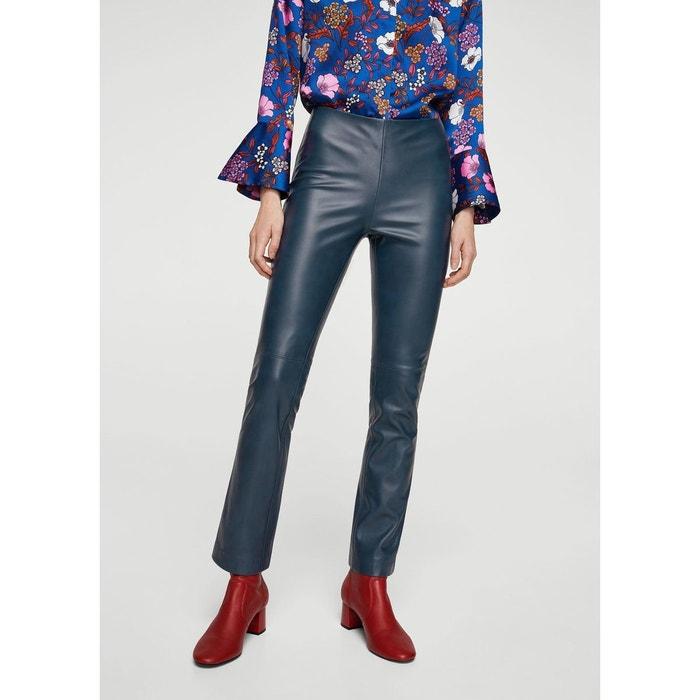 Pantalon droit couture MANGO