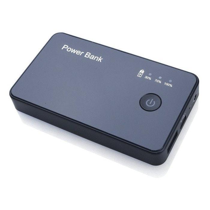 batterie externe cam ra espion hd 720p chargeur de secours 3000 mah yonis la redoute. Black Bedroom Furniture Sets. Home Design Ideas