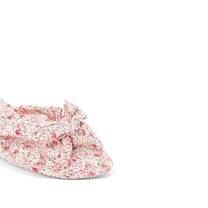 Мягкие туфли с цветочным рисунком