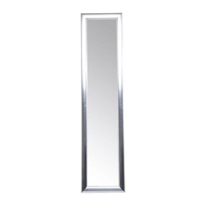 Miroir sur pied modern living argenté 170x40cm kare design argent ...