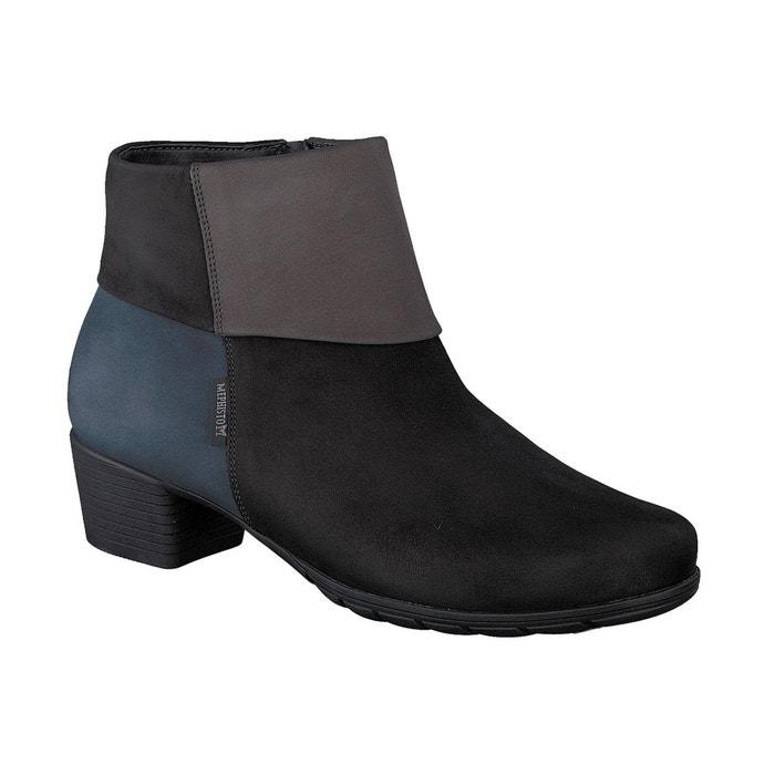Boots iris multicole noir Mephisto