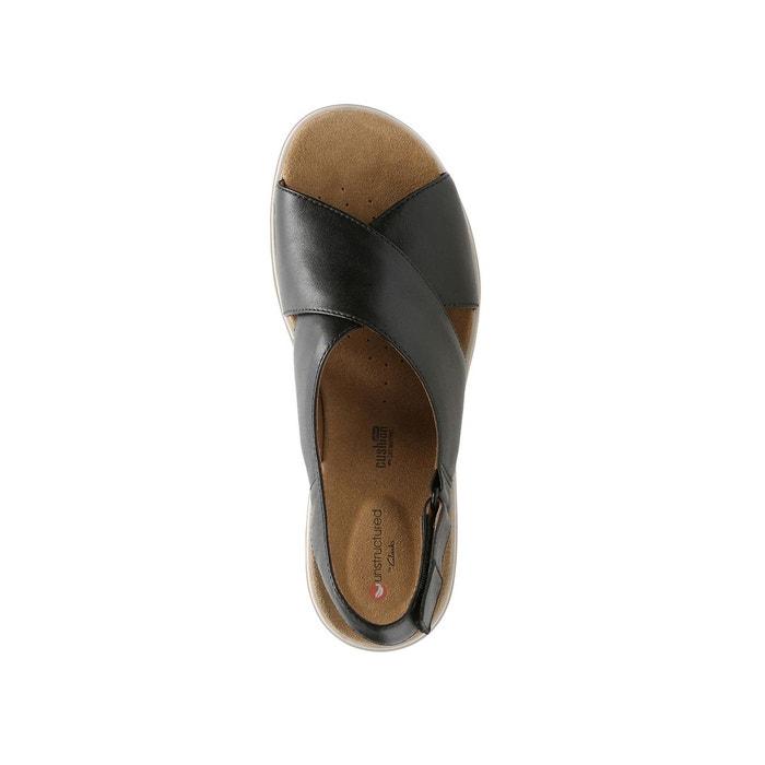 Sandales cuir un karely hail noir Clarks