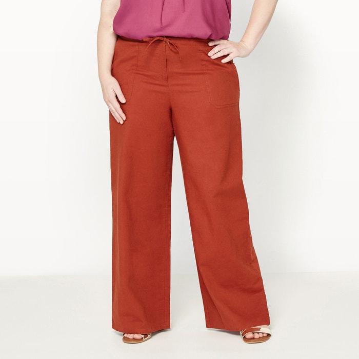 Imagen de Pantalón de lino y algodón CASTALUNA
