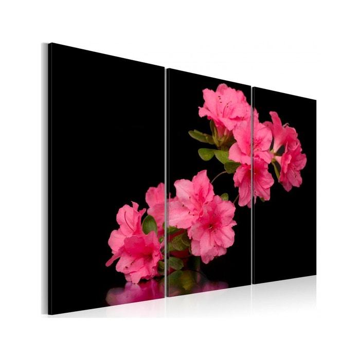 tableau triptyque - fleur de cerisier artgeist | la redoute