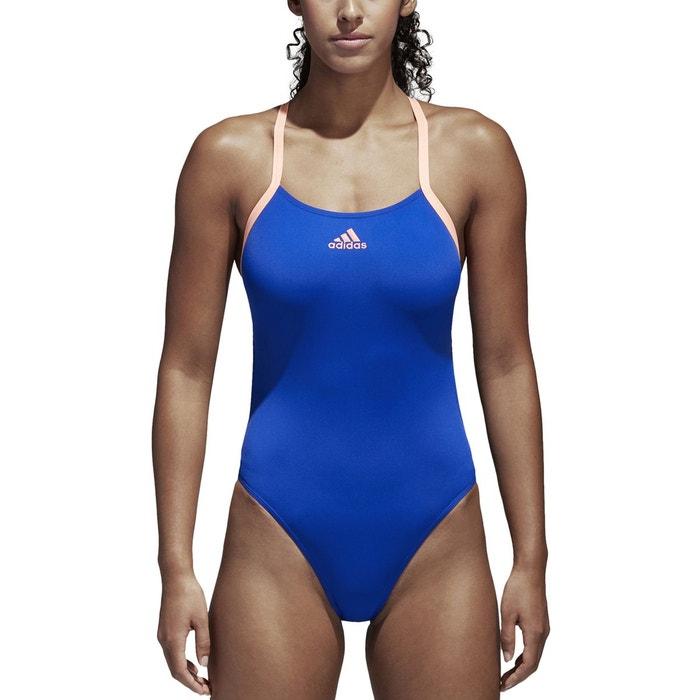 Maillot 1 pi ce piscine bleu adidas performance la redoute for Piscine b24