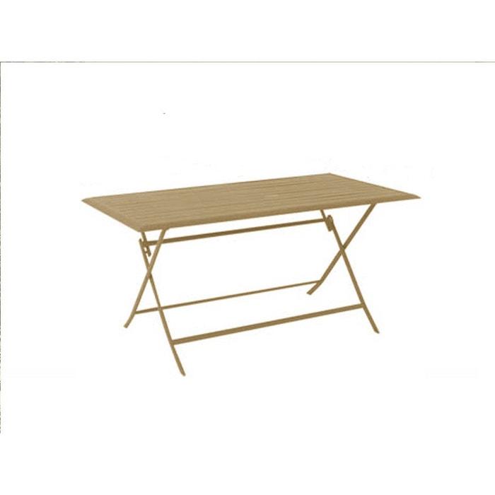 Table de jardin rectangulaire azua 6 places taupe Hesperide | La Redoute