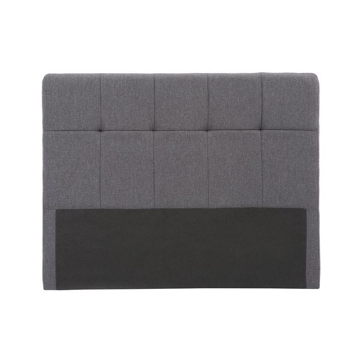 Tête de lit classique tissu 140 cm CLOVIS
