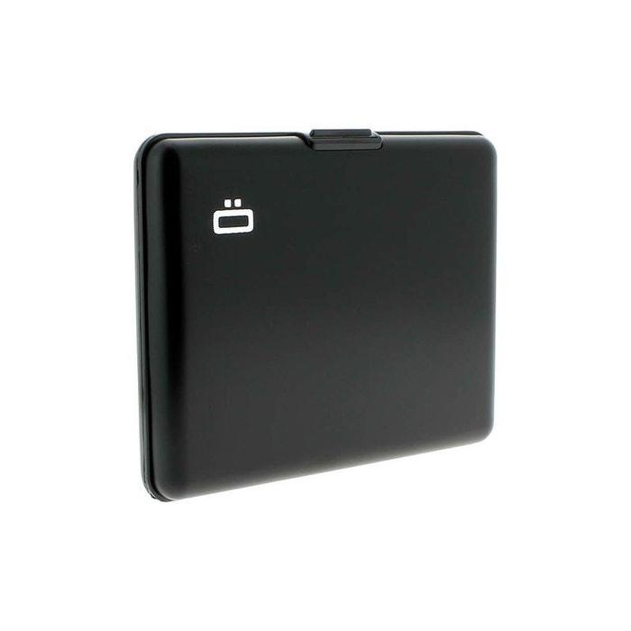 Portefeuille big stockholm noir aluminum noir Ogon Design | La Redoute Meilleur Prix 9LrDFO9f