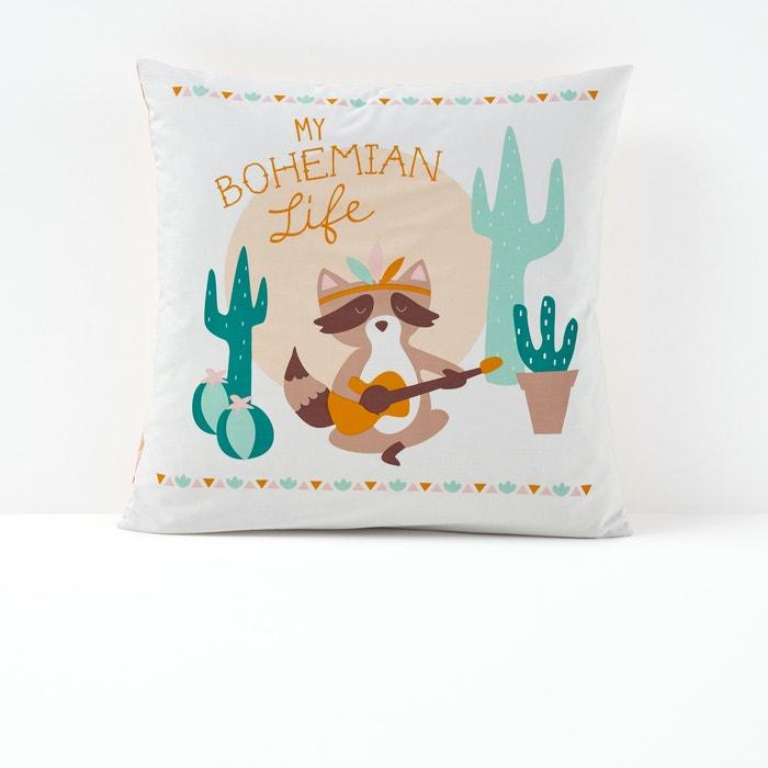 Taie d'oreiller imprimée, Bohemian Life  La Redoute Interieurs image 0