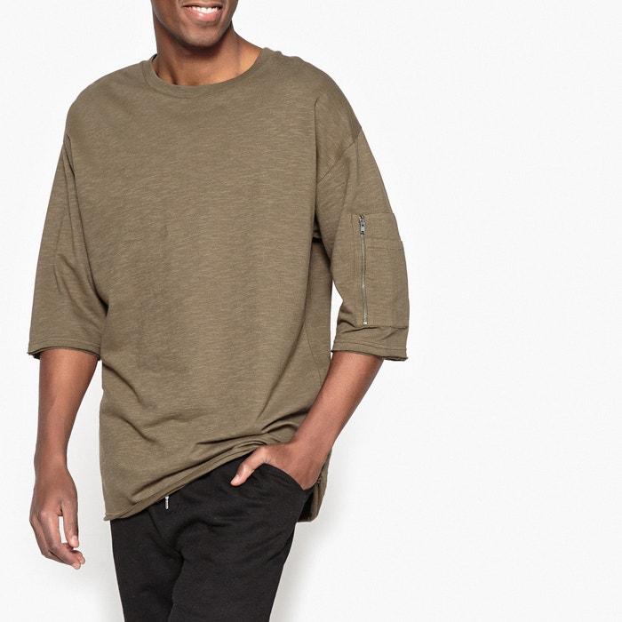 Oversized Crew Neck Sweatshirt  La Redoute Collections image 0