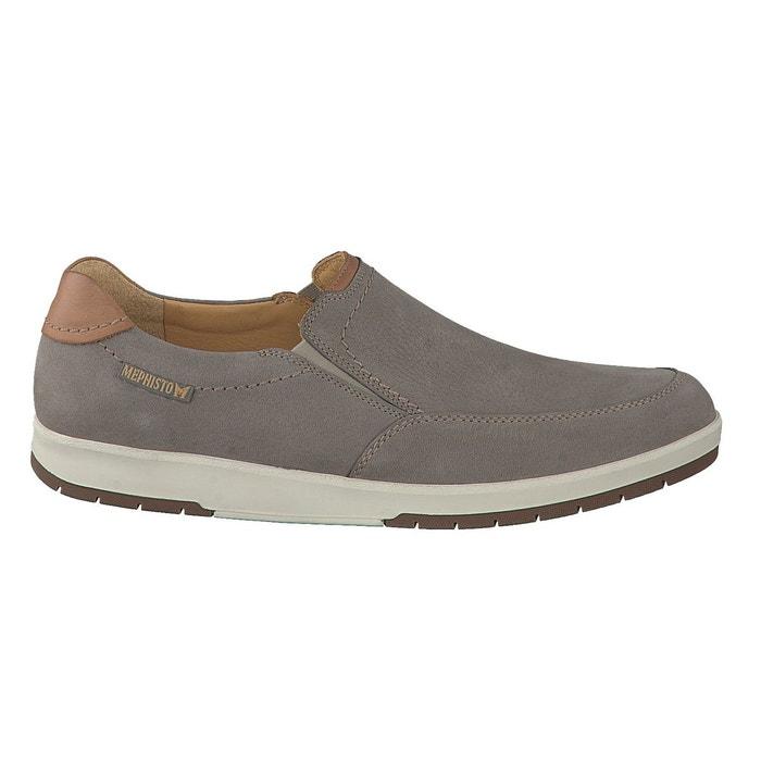 Mephisto Mocassins LEO gris Gris - Livraison Gratuite avec - Chaussures Mocassins Homme