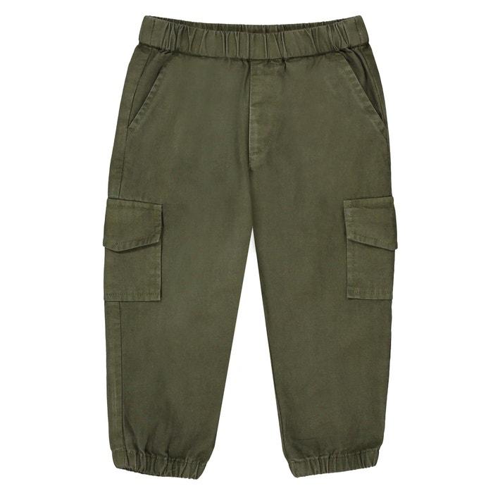 Pantaloni cargo 1 mese - 3 anni  La Redoute Collections image 0