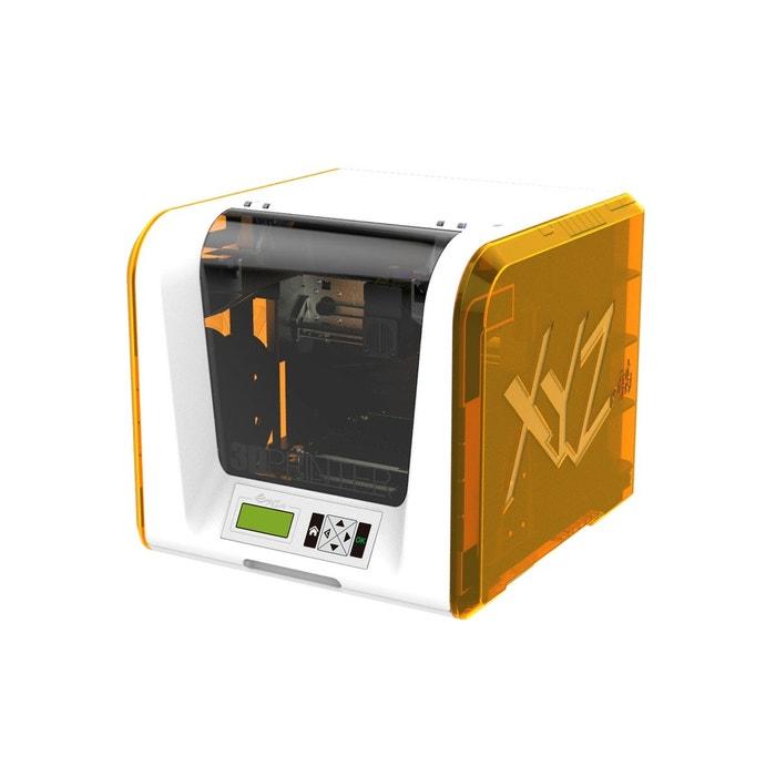 imprimante 3d xyz printing junior 1 t te blanc et jaune xyz printing la redoute. Black Bedroom Furniture Sets. Home Design Ideas
