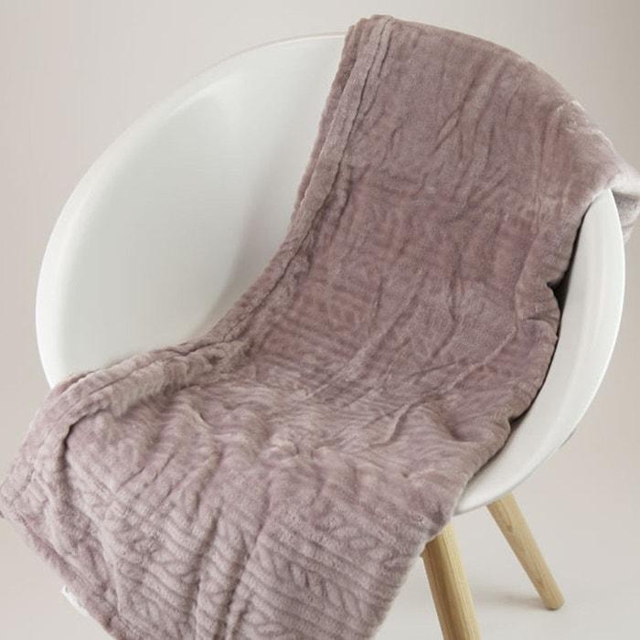 plaid gris gris dodo la redoute. Black Bedroom Furniture Sets. Home Design Ideas