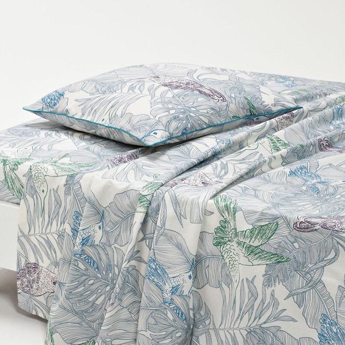 drap plat imprim hindura la redoute interieurs la redoute. Black Bedroom Furniture Sets. Home Design Ideas