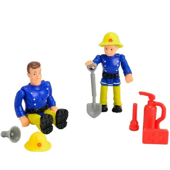 Petits personnages sam le pompier couleur unique smoby - Sam le pompier personnages ...