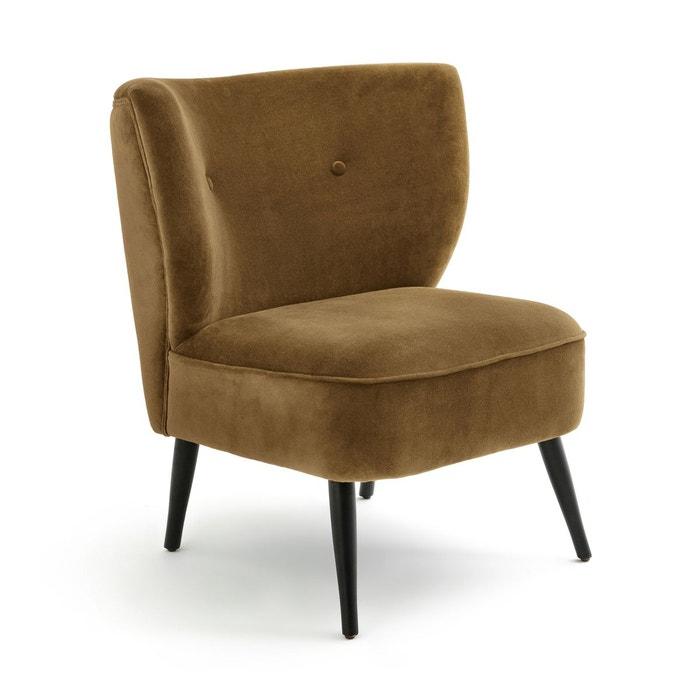 fauteuil franck velours am pm la redoute. Black Bedroom Furniture Sets. Home Design Ideas