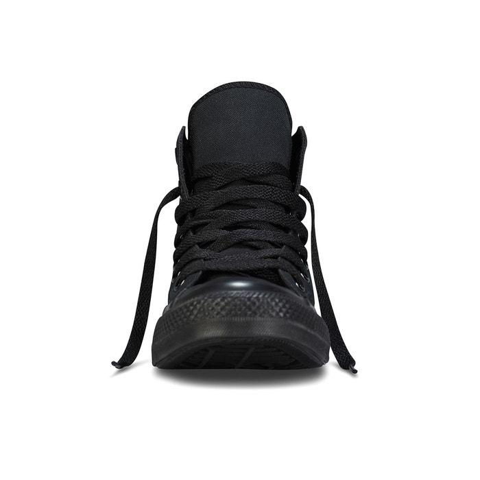 Baskets montantes ctas mono canvas hi noir Converse