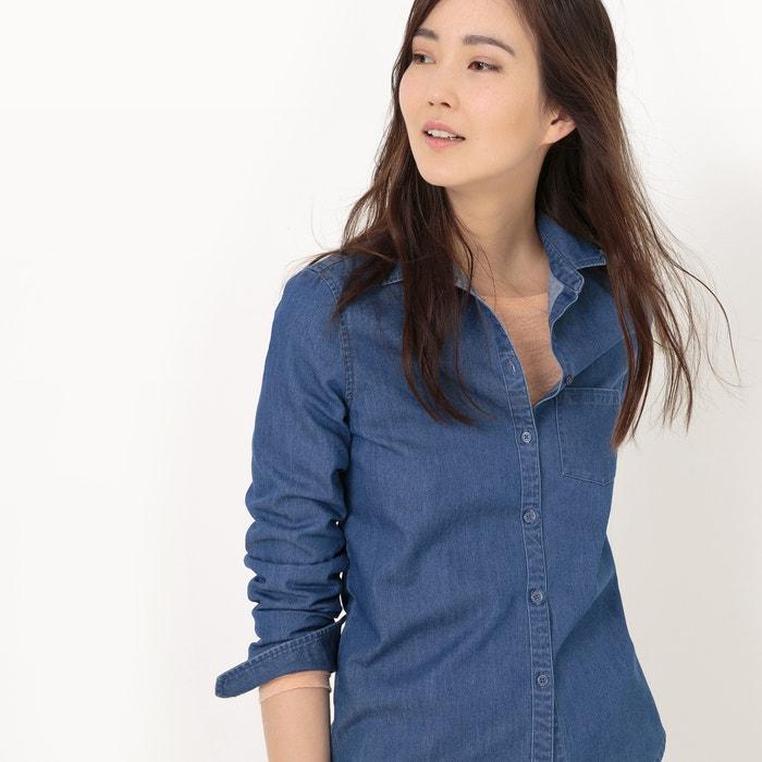 denim Collections corte Camisa con La recto Redoute q1CwOWnxt6