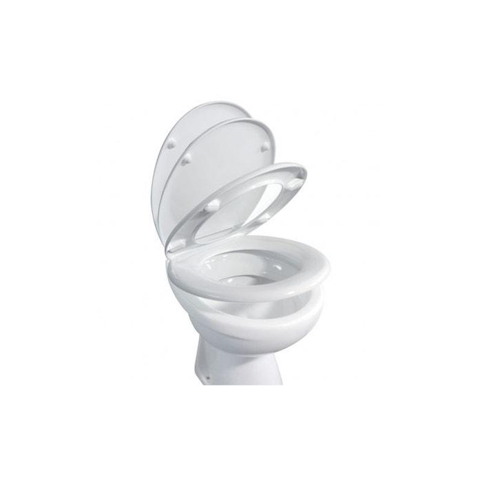 abattant wc omega blanc home bain la redoute. Black Bedroom Furniture Sets. Home Design Ideas