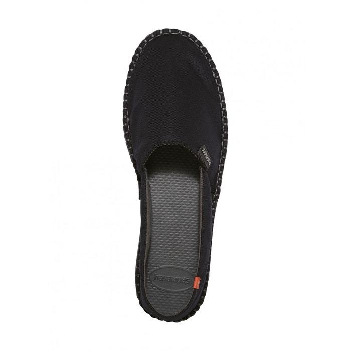 Chaussures espadrilles havaianas noire  noir Havaianas  La Redoute