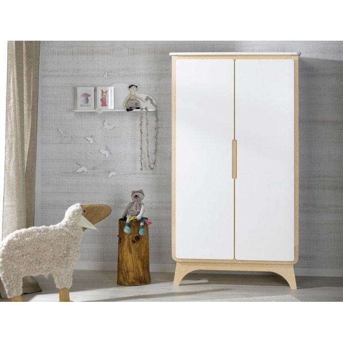 armoire bebe blanc bouleau blanc bouleau alfred et compagnie la redoute. Black Bedroom Furniture Sets. Home Design Ideas