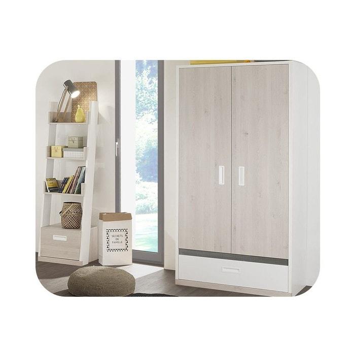armoire enfant il o 2 portes blanc ma chambre d 39 enfant. Black Bedroom Furniture Sets. Home Design Ideas