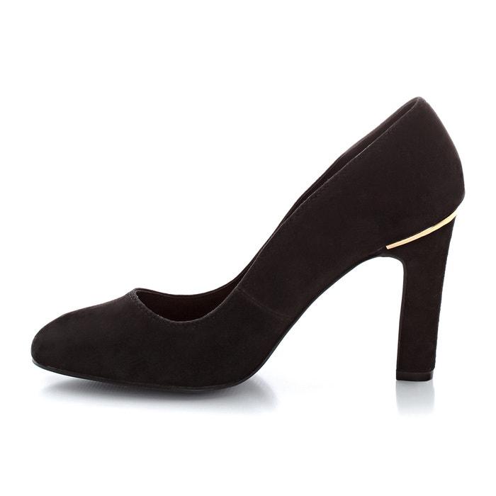 de de 243;n Zapatos detalle nobuk tac dorado ELLE piel qw1FvF