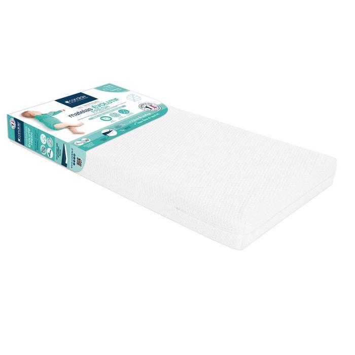 Matelas évolutif tencel pour lit 60 x 120 x 12 cm - candide blanc ...