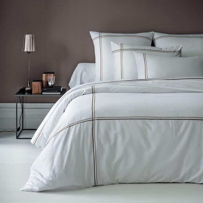housse de couette palais chic cuivre blanc garnier. Black Bedroom Furniture Sets. Home Design Ideas