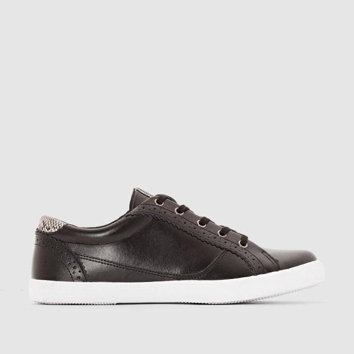 Image Flache Sneakers, Leder R studio