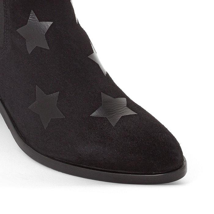 Boots cuir zoe noir Tommy Hilfiger