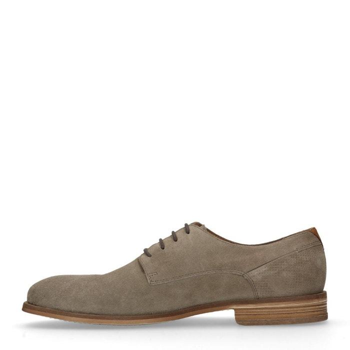 Chaussures à lacets décontractées beige Sacha