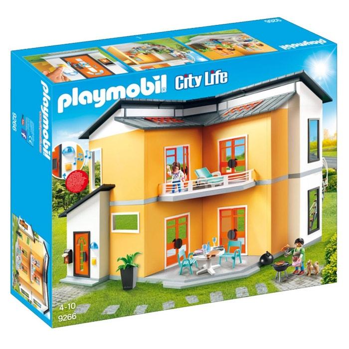maison moderne pla9266 couleur unique playmobil la redoute. Black Bedroom Furniture Sets. Home Design Ideas