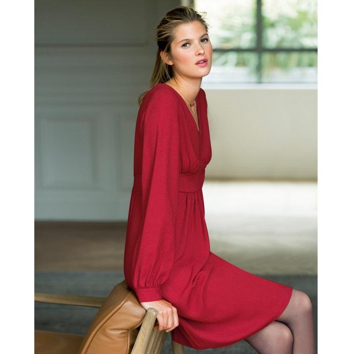 Vestido vermelho  La Redoute Collections image 0