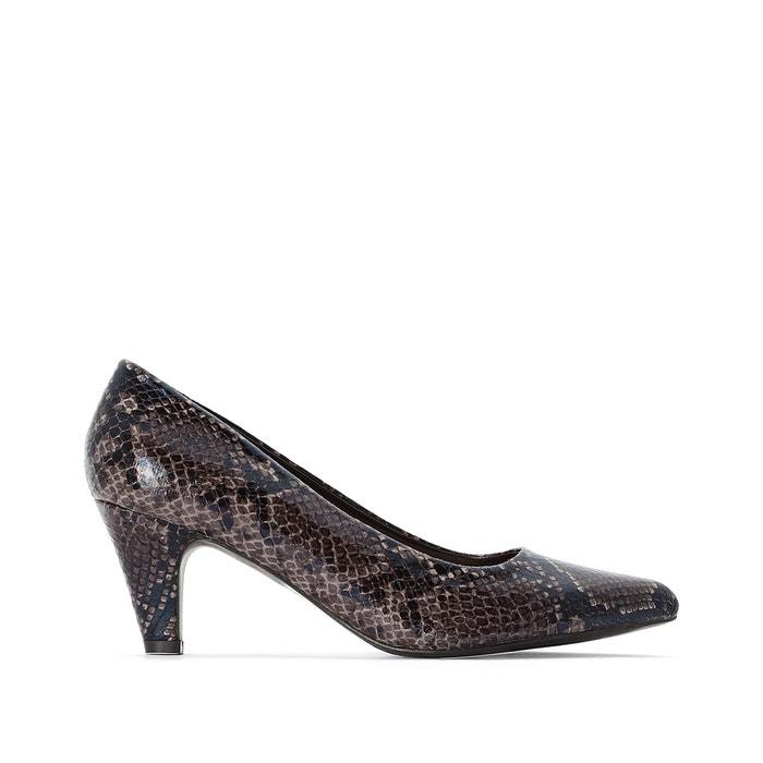 bastante agradable 51d46 9a196 Zapatos de tacón estilo piel de serpiente