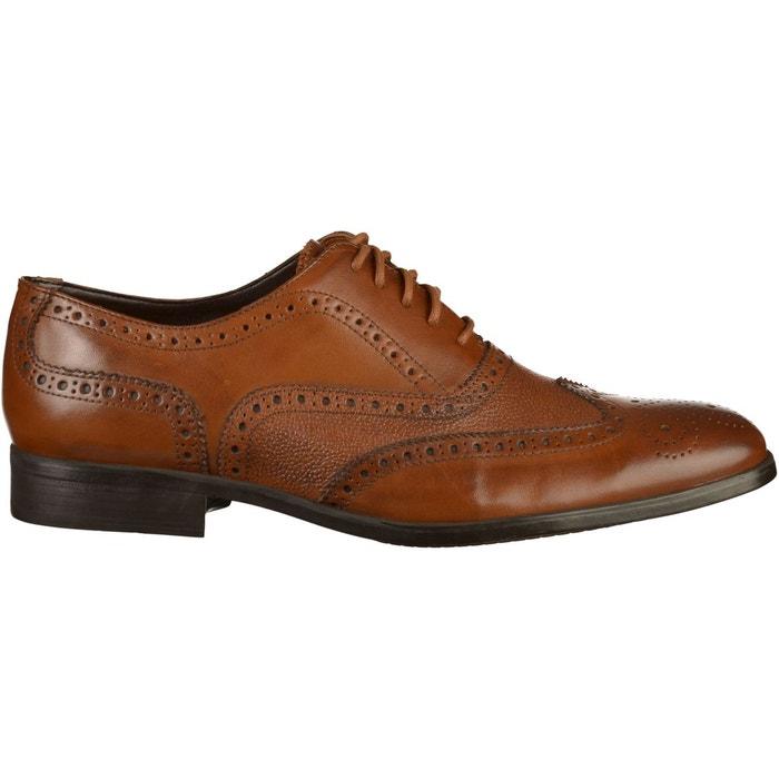 d9e9b5a20f0 Chaussures basses marron Clarks La Redoute GH8HUA1Z - destrainspourtous.fr