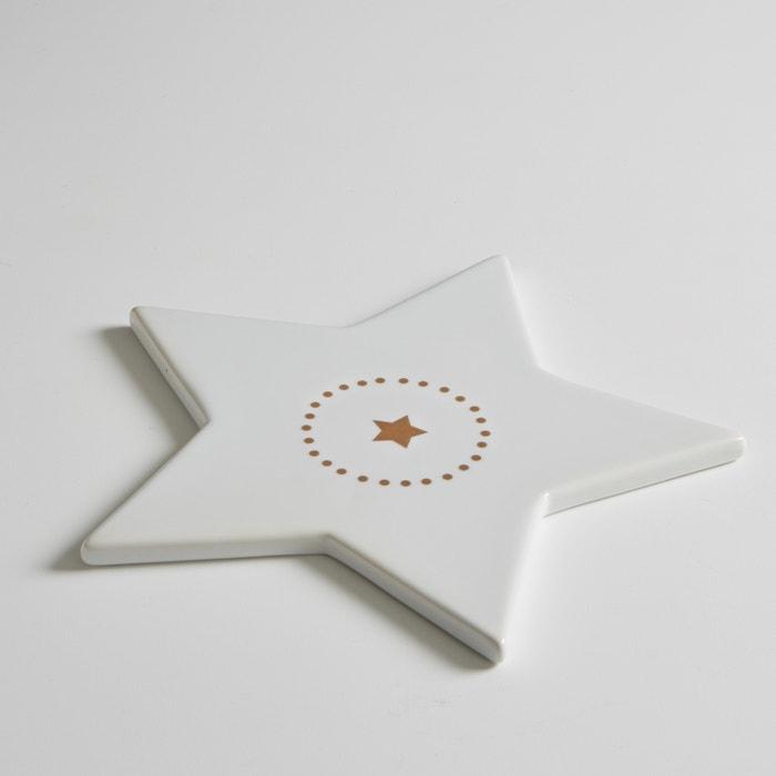 Base para prato em forma de estrela, porcelana, Kubler  La Redoute Interieurs image 0