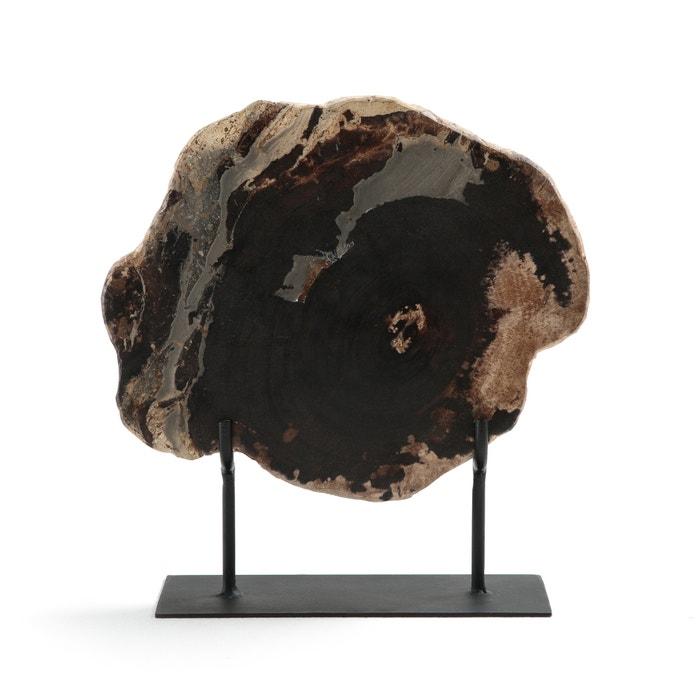 Sculptuur in versteend hout op sokkel van Speusippe  AM.PM. image 0