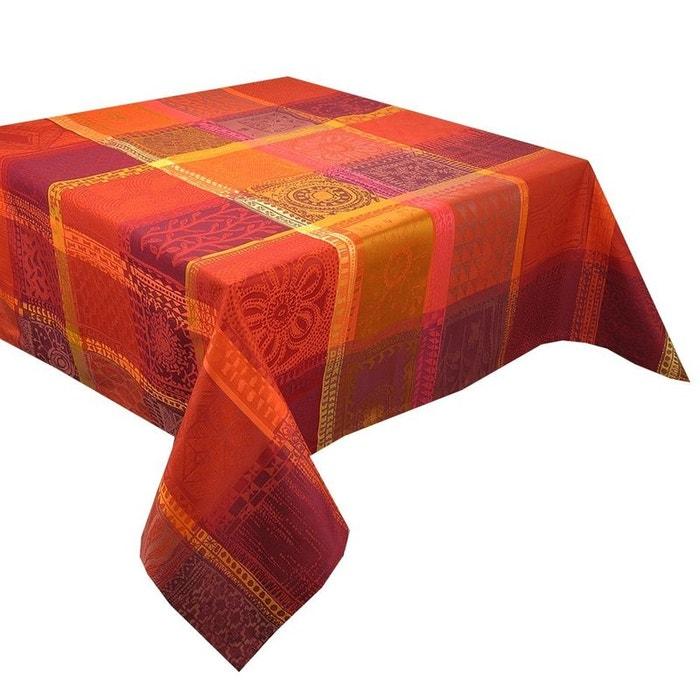 nappe mille wax ketchup orange rouge garnier thiebaut la redoute. Black Bedroom Furniture Sets. Home Design Ideas