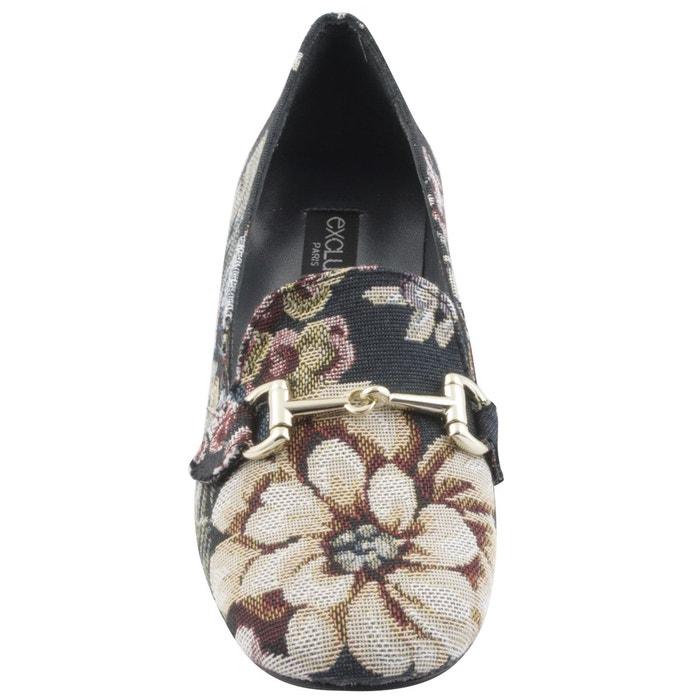 Chaussures à talons olympe multicolore Exclusif Paris