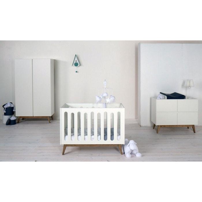 lit b b trendy 60x120 quax la redoute. Black Bedroom Furniture Sets. Home Design Ideas