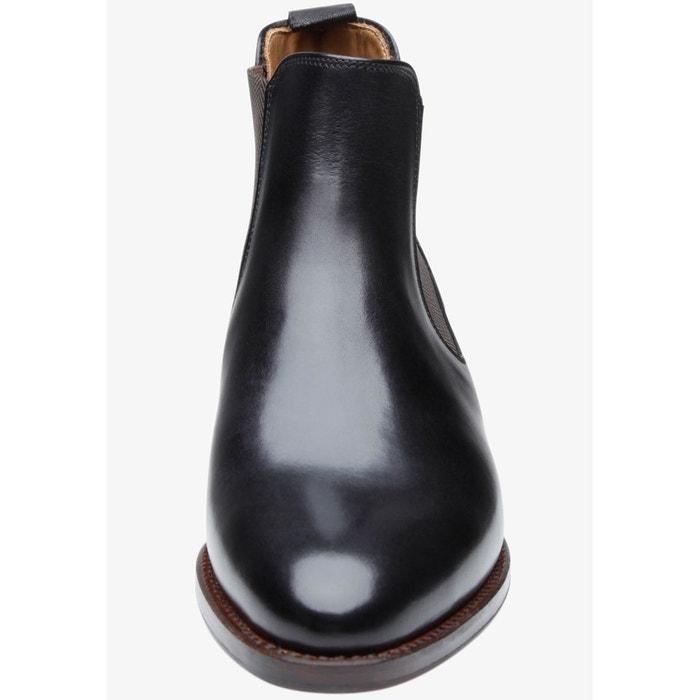 Chelsea boots en noir noir Shoepassion