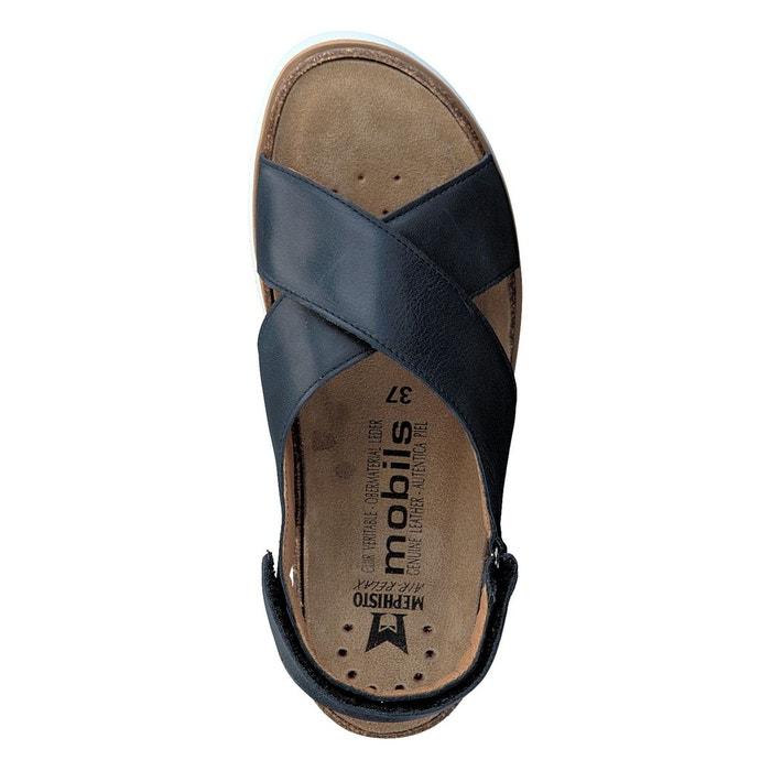 Sandales tally bleu marine Mephisto