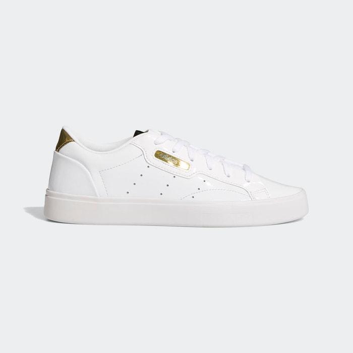 Baskets adidas sleek blanc Adidas