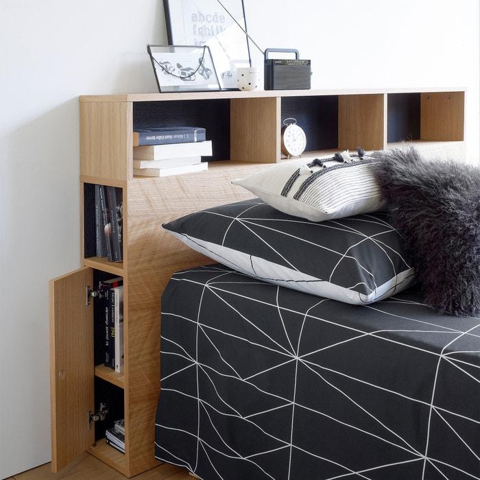 a23132f478a Cabecero de cama con organización biface madera clara roble La Redoute  Interieurs